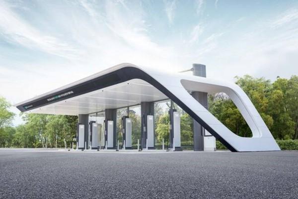 현대차가 전기차 충전소